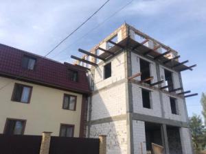 House of Hope top floor building works